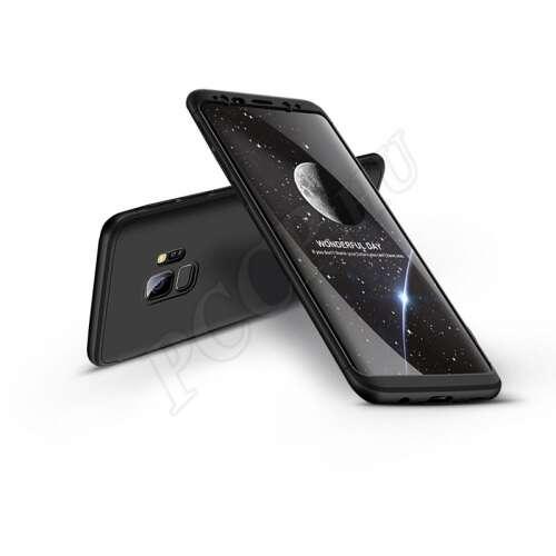 Samsung Galaxy S9 fekete három részből álló védőtok