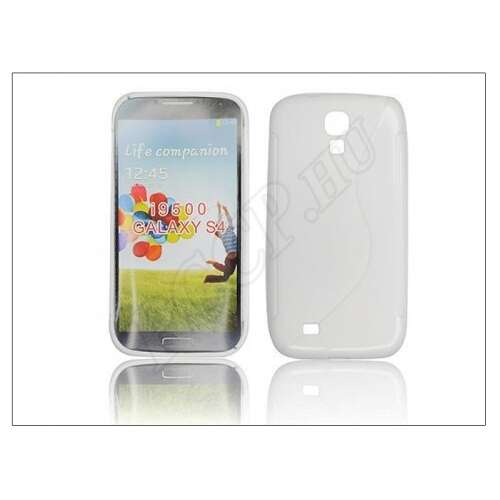 Samsung Galaxy S4 fehér szilikon hátlap