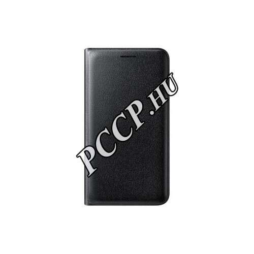 Samsung Galaxy J1 (2016) fekete oldalra nyíló book tok