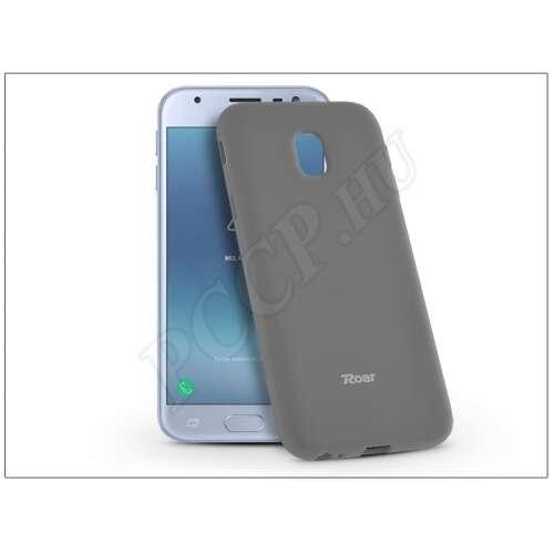 Samsung Galaxy J3 (2017) szürke szilikon hátlap