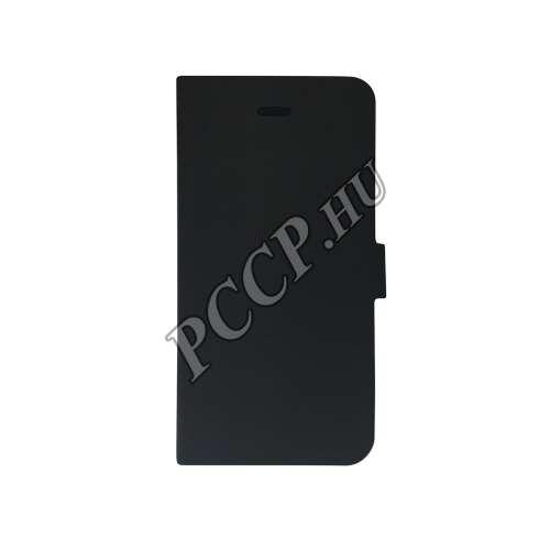 Sony Xperia M5 fekete flip oldalra nyíló tok