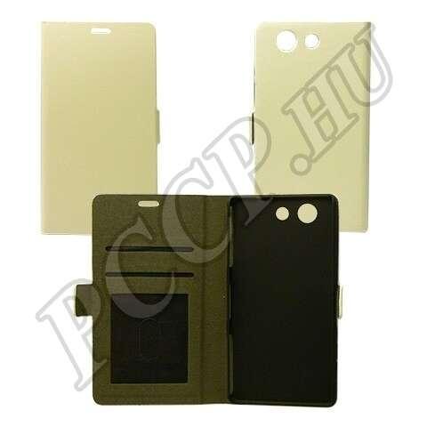 Huawei P8 Lite fehér flip tok