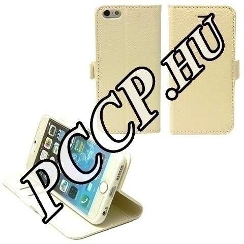 Iphone 6 fehér flip tok