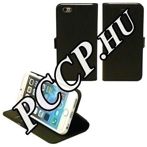 Iphone 6 fekete flip oldalra nyiló tok