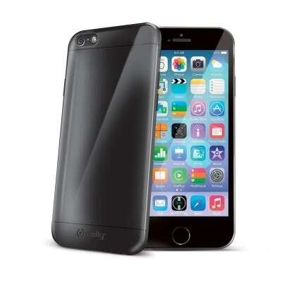 Iphone 6 fekete szilikon hátlap