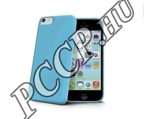 Iphone 6 kék szilikon hátlap