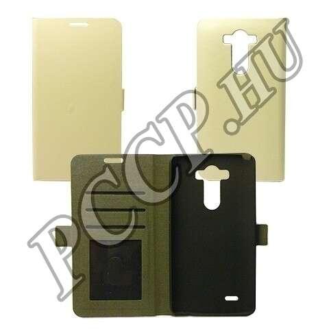 LG G4C fehér flip tok
