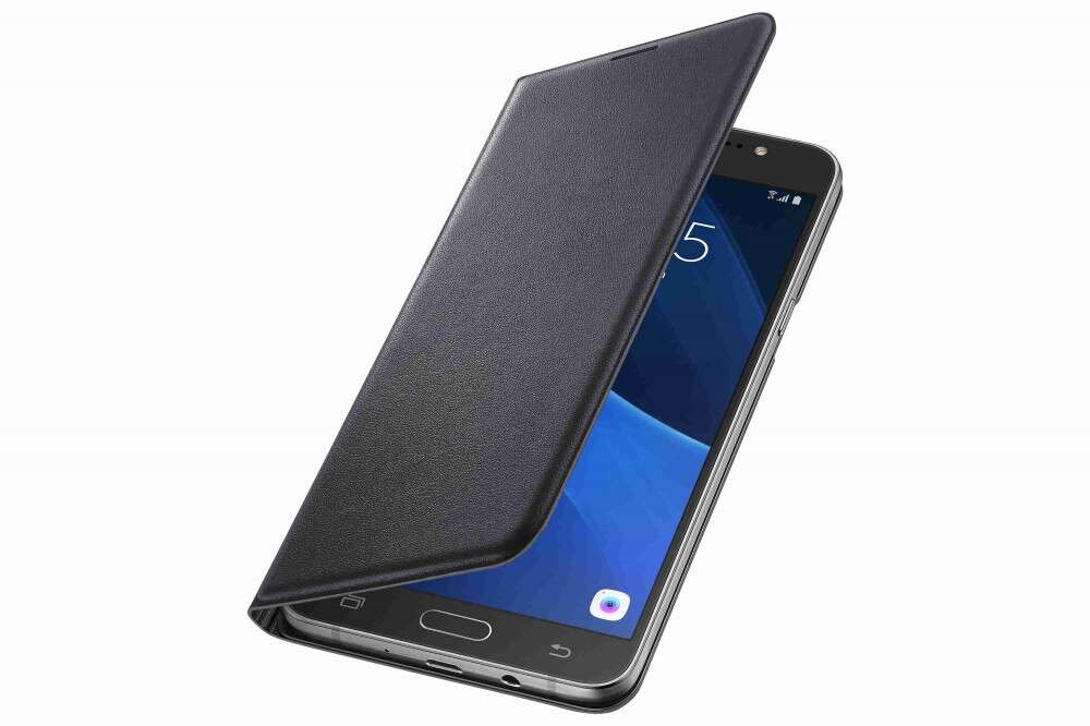 wholesale dealer 93d0c ee697 Samsung Galaxy J5 fekete book cover